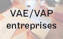 VAE/VAP entreprises
