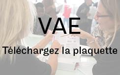VAE - Téléchargez la plaquette